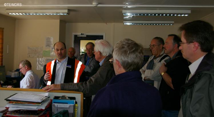 MDRS members in the Bletchley Control Centre