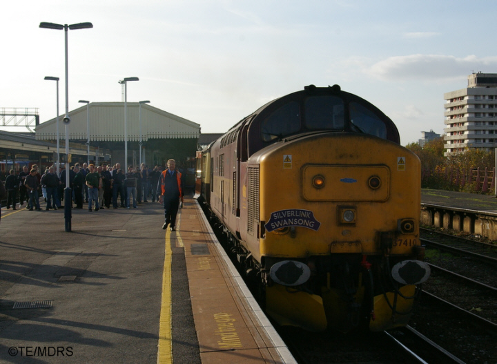 37410 at Clapham Junction
