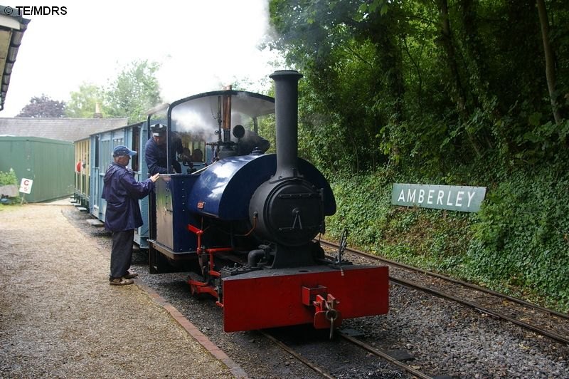 Wendy at Amberley Station