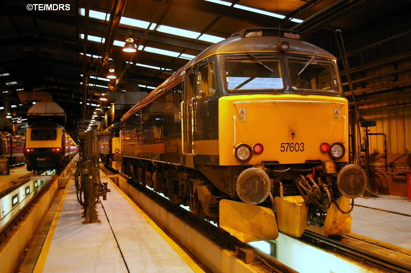 57603 in HST Shed