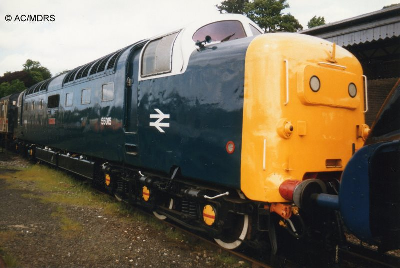 55015 at High Wycombe