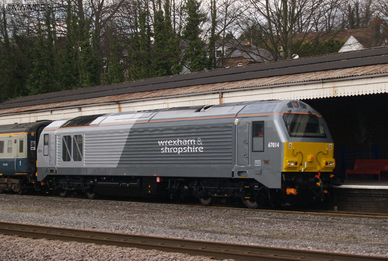 67014 at High Wycombe