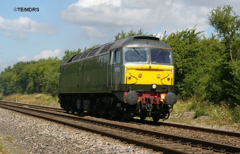 47773 passing Ludgershall