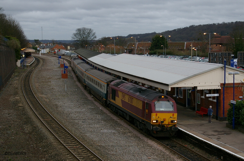 67017 and 67016 at High Wycombe