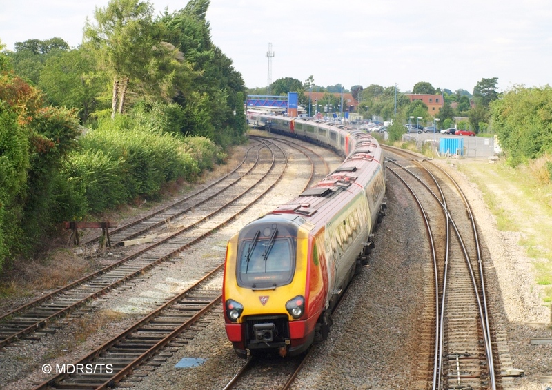 Diverted Virgin Trains service at Prince Rissborough (photo by Tim Speechley)