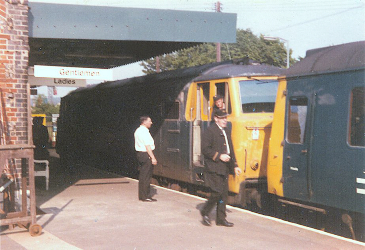 7011 at Bourne End