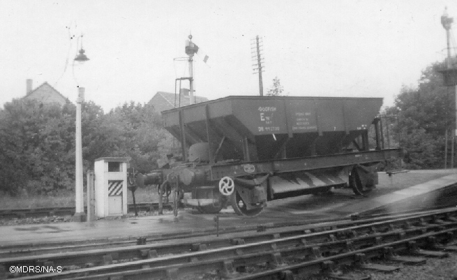 Derailed wagon at Bourne End