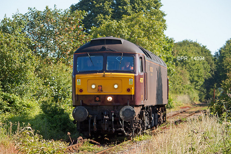 47237 approaching Cookham