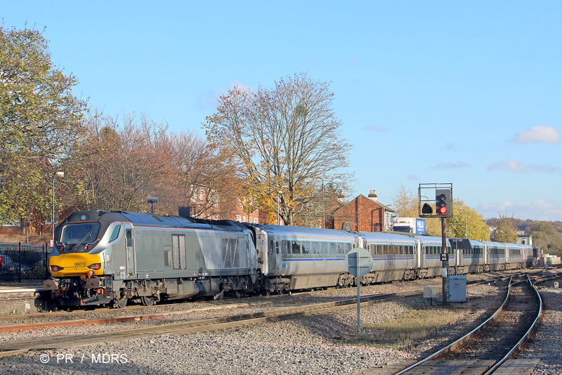 68012 again leaving High Wycombe
